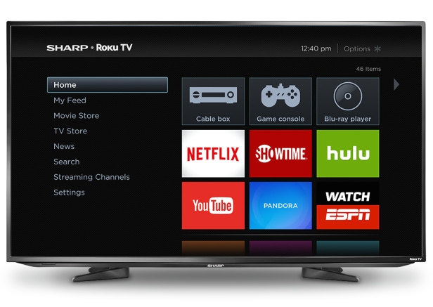 Sharp_Roku-TV_home-screen