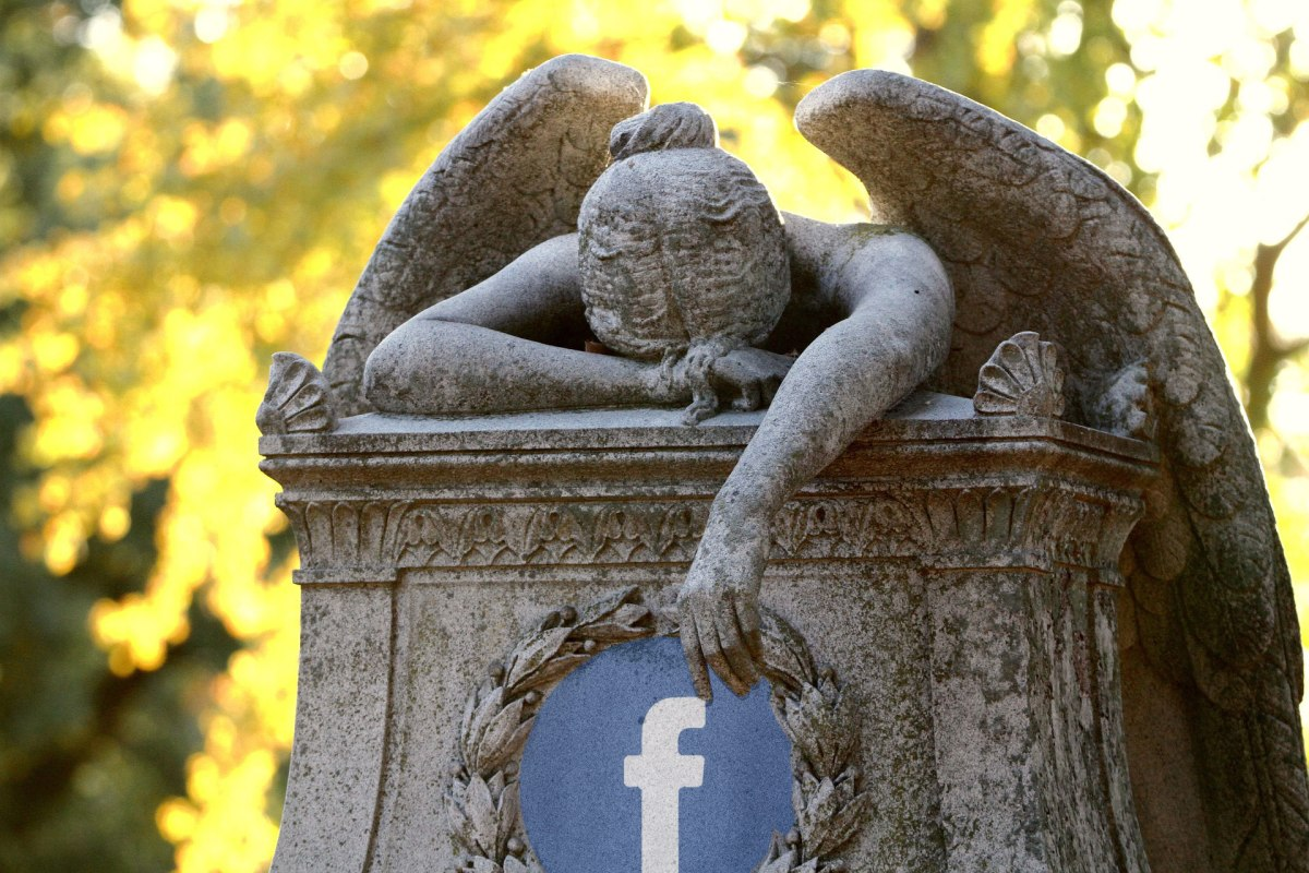 Every single day, 10,000 Facebook users die