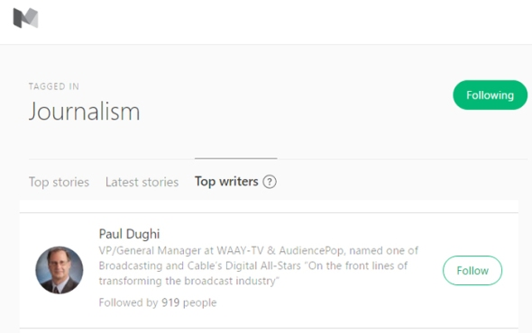 dughi d ldquo top writer rdquo in social media journalism by medium com medium top writer journalis