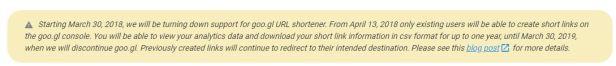 google link shorten